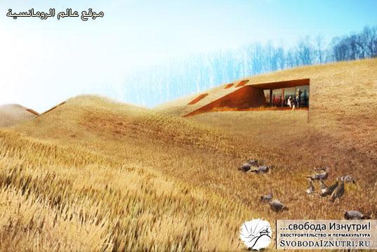 Подземный дом в Африке