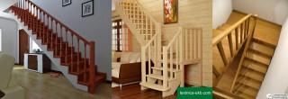 Прямая лестница не имеет площадки. Поворачивающая на 90 градусов — требует дополнительный квадратный метр на площадку. Поворачивающая на 180 градусов — требует два квадратных метра на площадку.