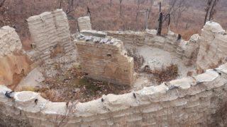 стены из мешков